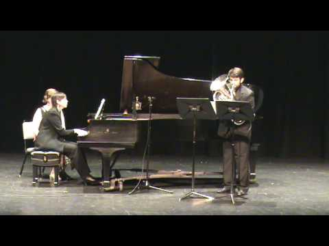 Gaines: Euphonium Concerto -  2. Vivace (beginning) - 2 of 4