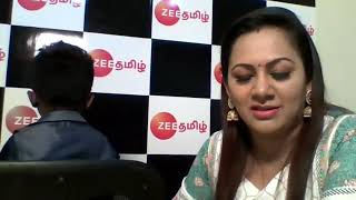 Interview with Kamalesh and Archana Zee Tamil SaRe