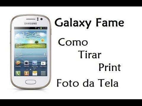 Galaxy Fame - Como Tirar Print (Foto da Tela / DavidTecNew)