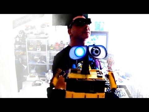 Wall-e Robot Augmented Reality