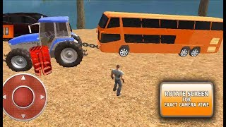 Heavy Tractor Duty Pulls Driving #8- Heavy Tractor trolley games, Tractor cartoon video