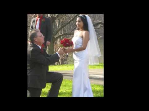 AMERICAN AND FILIPINA pinay -BEST WEDDING- Part 1