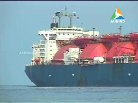 Ship @ LNG Terminal, Kochi