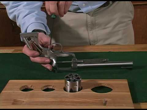 Ruger Single Action Revolver Disassembly