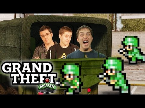 TROJAN HORSE THE U.S. MILITARY (Grand Theft Smosh)