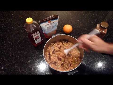 Fig Jam with Honey, Cinnamon and Citrus