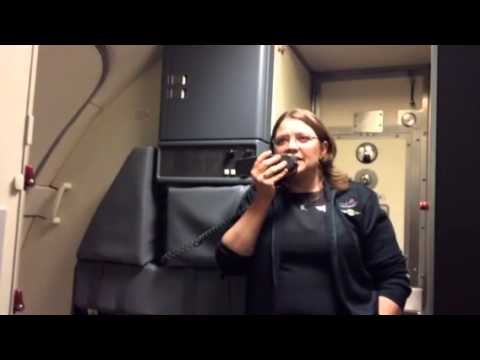 Southwest Airlines safety announcements by Erica
