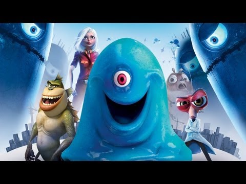 CGRundertow MONSTERS VS ALIENS for Xbox 360 Video Game Review