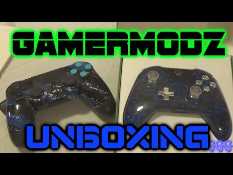 GamerModz Modded Controller Unboxing and Review
