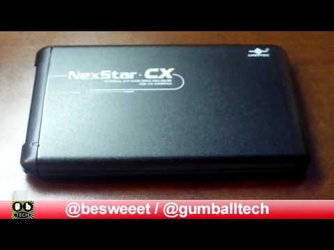 """2.5"""" USB 2.0 Hard Drive Enclosure (Vantec NexStar CX)"""