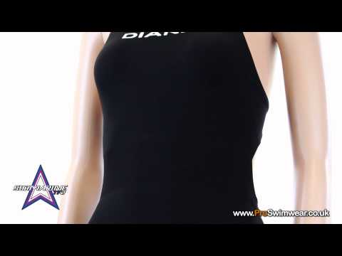 Diana Submarine TF2 Kneeskin 2013 - Black - Open Back - Presented by ProSwimwear