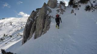 Sunday with superior skiing at Mt. Snežnik :) 12032017
