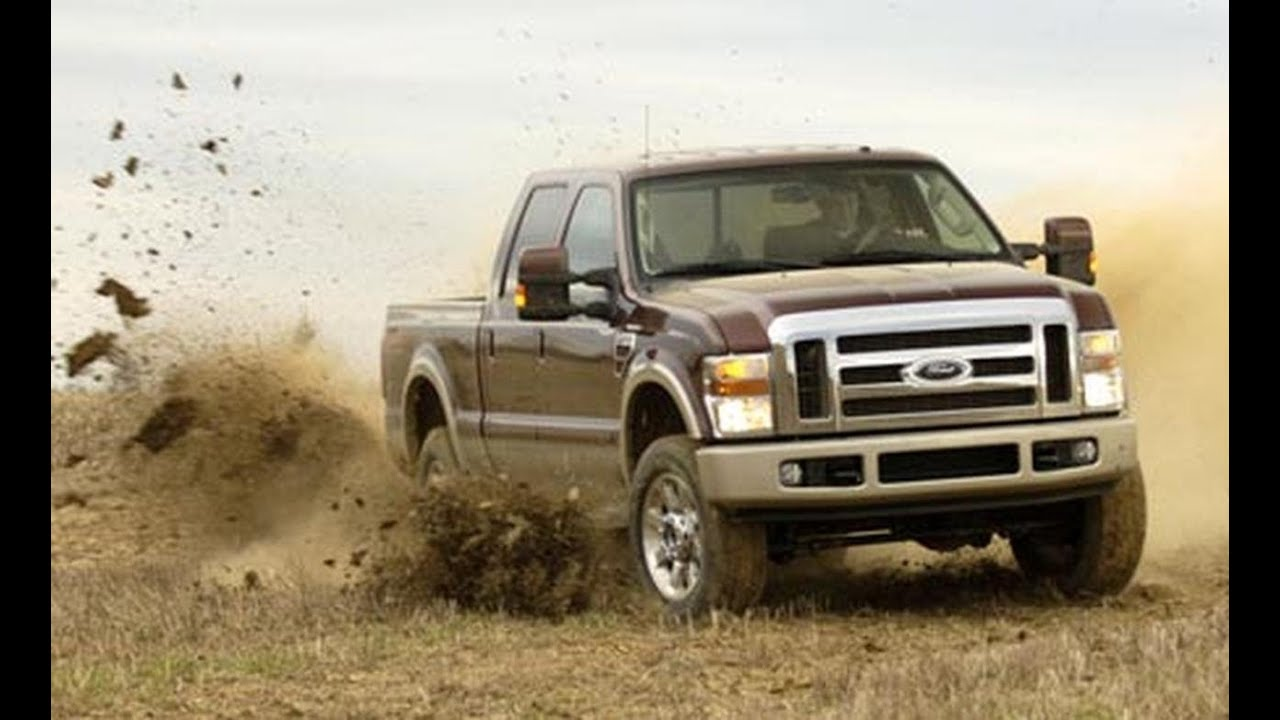 2008 Ford F-250 Super Duty King Ranch - CAR and DRIVER - YouTube