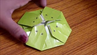 How To Make 4 Origami Frogs From 1 Sheet Of Paper