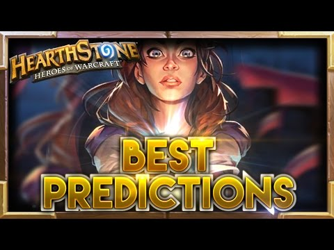 Best Predictions Ep.2   Hearthstone Moments