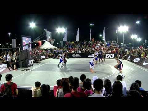 [FULL GAME] Philippines vs USA - 2013 FIBA #3x3U18 Jakarta
