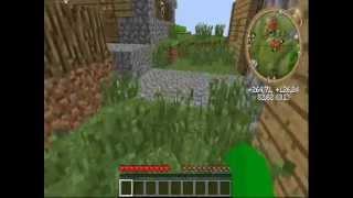 como aparecer en una aldea en minecraft cualquier version