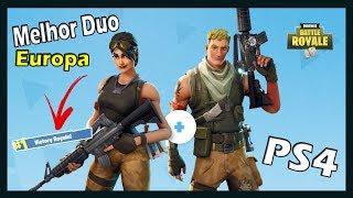 Melhor duo da Europa - Fortnite(PS4)