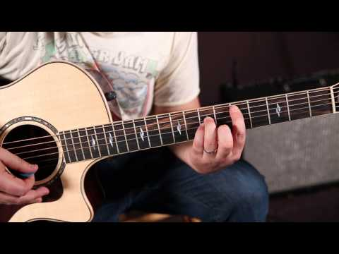 Bob Seger - Hollywood Nights - Guitar Lesson - How to Play on Guitar With Just 1 Chord !