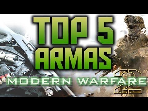 TOP 5 Armas de Call Of Duty Modern Warfare 2