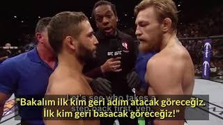 TÜRKÇE Conor McGregor ve Khabib Nurmagomedov Rakiplerine Maç İçinde Neler Söylüyor