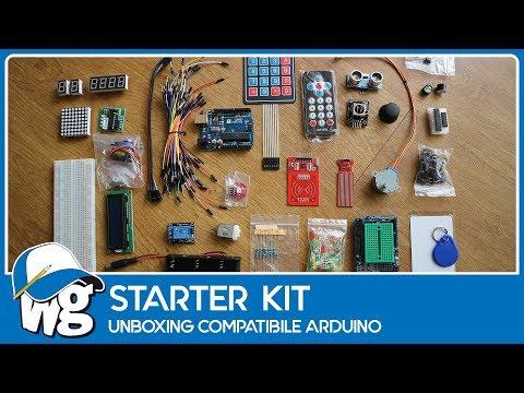 Unboxing kit Arduino compatibile