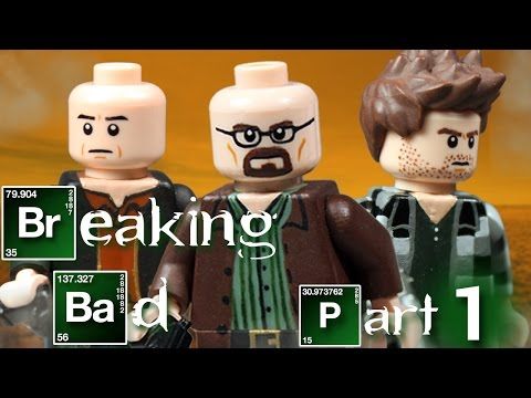 Custom LEGO Breaking Bad Minifigures - Part 1