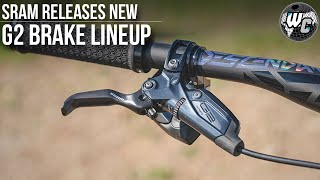 Sram G2 Ultimate & G2 RSC Brakes | New Release From SRAM!