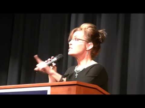 Sarah Palin at Chris McDaniel rally in Mississippi