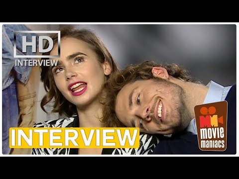 Love, Rosie | Lily Collins & Sam Claflin on love movies, friendship and (w)rapping INTERVIEW