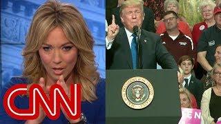 Brooke Baldwin: This face behind Trump startled me