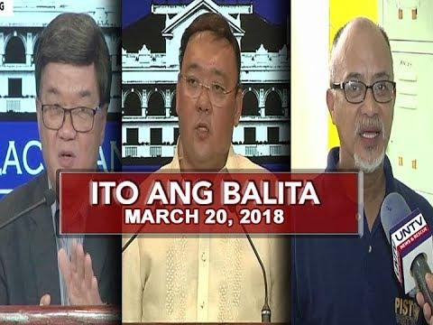 UNTV: Ito Ang Balita (March 20, 2018)