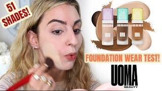 UOMA Beauty Foundation Wear Test!