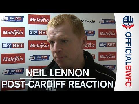 NEIL LENNON | Post-Cardiff reaction