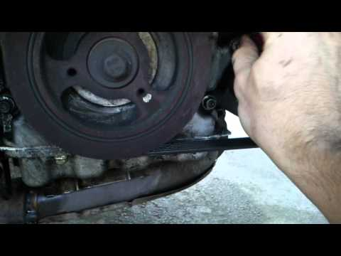 HOW TO Change The Crankshaft Postion Sensor Of Ford Escape