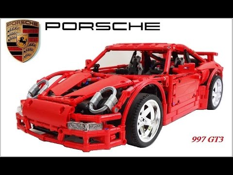 German Version Crowkillers Custom Lego Technic Porsche 997 GT3