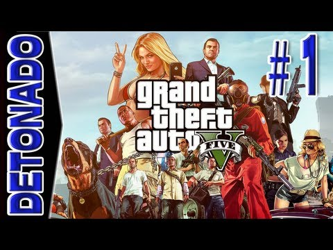 GTA 5 ( Grand Theft Auto V ) – Parte 1: Prologue [ Detonado / Playthrough em PT-BR ]