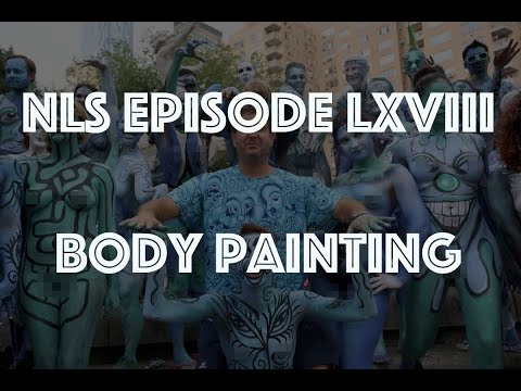 Naturist Living Show Episode Lxviii - Body Painting video