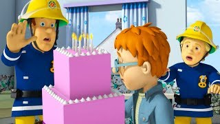 Fireman Sam New Episodes | SPECIAL Happy Birthday Sam ⭐ Battle of Birthdays - 1 Hour | Kids Movies