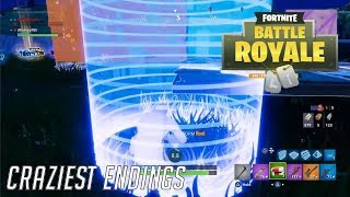 Top 5 CRAZIEST ENDINGS in Fortnite History!