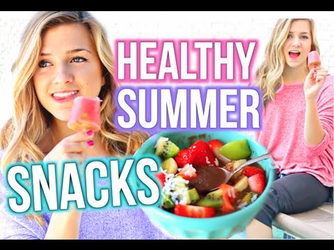 Healthy Summer Snacks & Treats DIY!