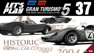 Let's Play Gran Turismo 5 - Part 37 - Historic Racing Car Cup