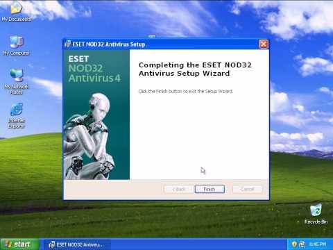 NOD32 Version 4.0 Install