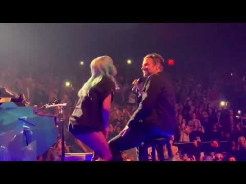 Bradley Cooper Lady Gaga Shallow  at Park Theater Las Vegas
