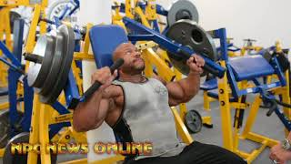 7x Time Mr.Olympia Phil Heath Shoulder Workout 27 Days Out From The 2018 Mr.Olympia