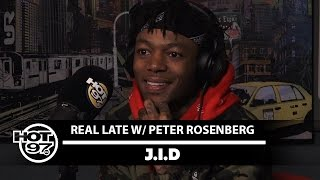 J.I.D Explains How He Met J Cole and Got Signed