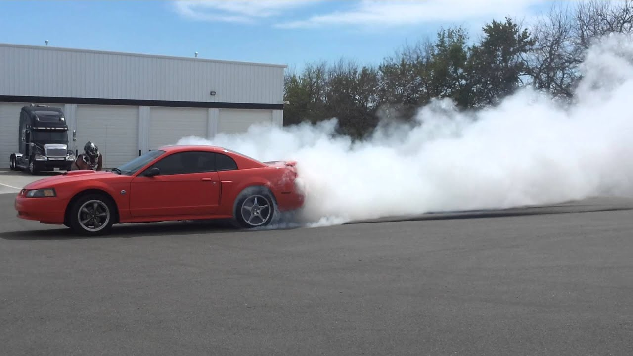 2004 Mustang GT Burnout YouTube
