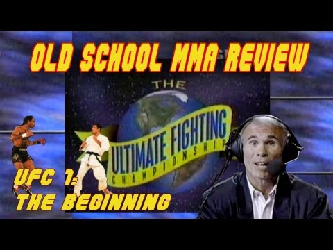 Old School MMA Review UFC 1