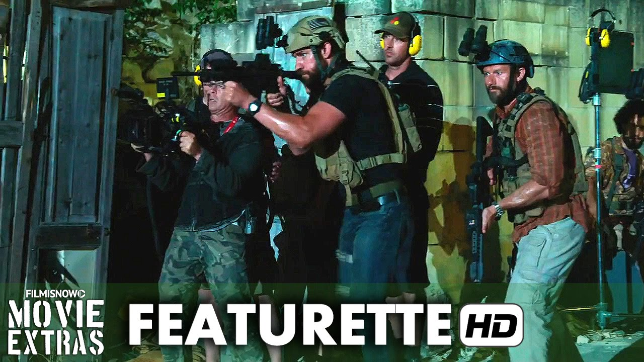 13 Hours: The Secret Soldiers of Benghazi (2016) Featurette - Bay and the Military
