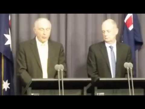 MH370  Search Area PART 1:  by Deputy Prime Minister of Australia